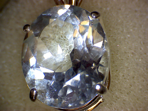 Colorado Blue Topaz Pendant