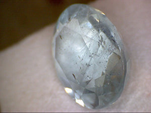 Faceted Antero Aquamarine Gemstone