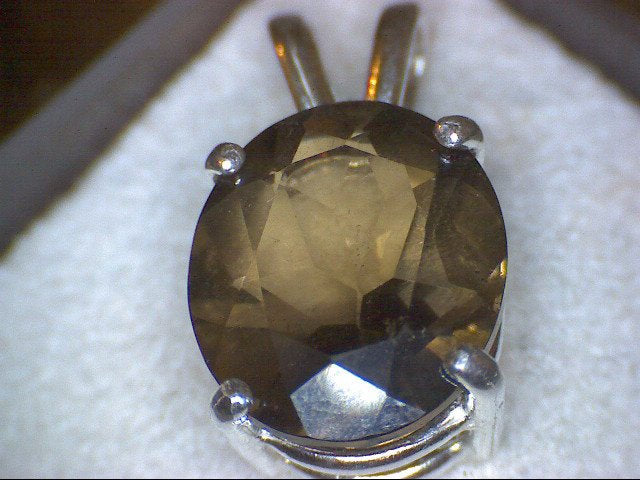 Natural Colorado Smoky Quartz Pendant