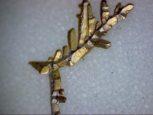 Crystallized Dendritic Gold specimen