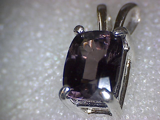 Purple Spinel Pendant