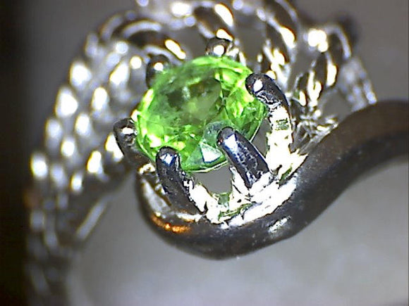 Tsavorite Rope Swirl Ring
