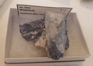 Molybdenite specimen