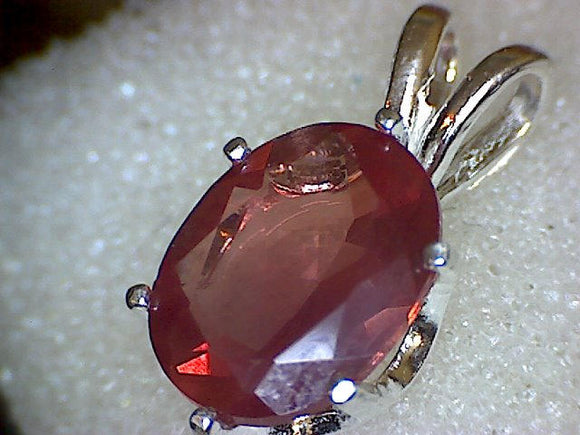 Red Andesine Pendant