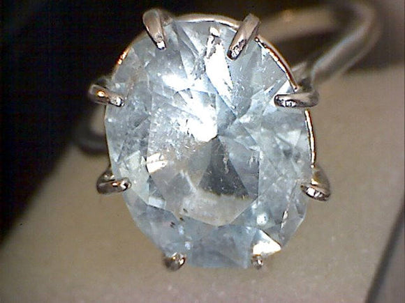 Colorado Blue Topaz Ring