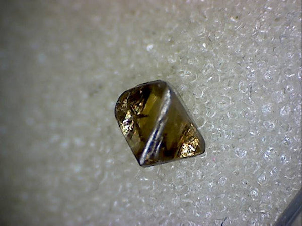 Yellowish Brown Diamond crystal
