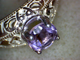 Purple Spinel Ring