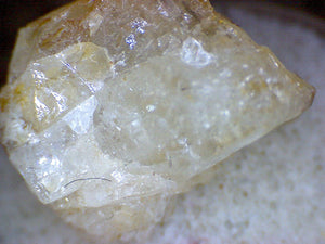 Hackmanite gem rough