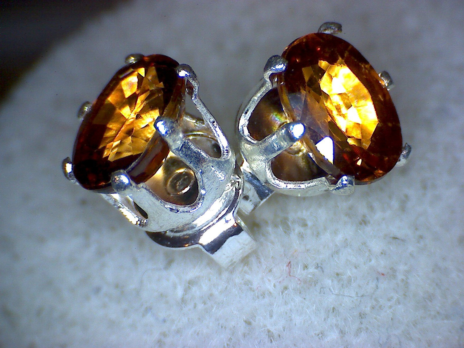 Honey Zircon Earrings