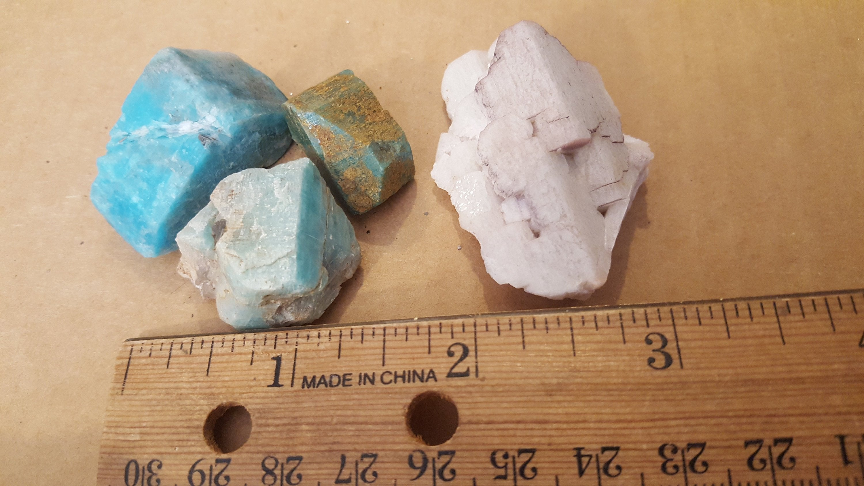 Colorado Amazonite Lot