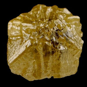 Yellow Diamond rare mineral specimen