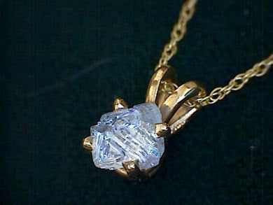 Diamond Pendant in 14K