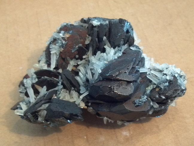 Hematite with quartz Specimen