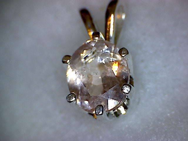 Brazilian Morganite Pendant