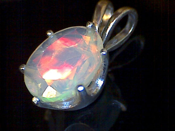 Welo Opal Faceted Pendant