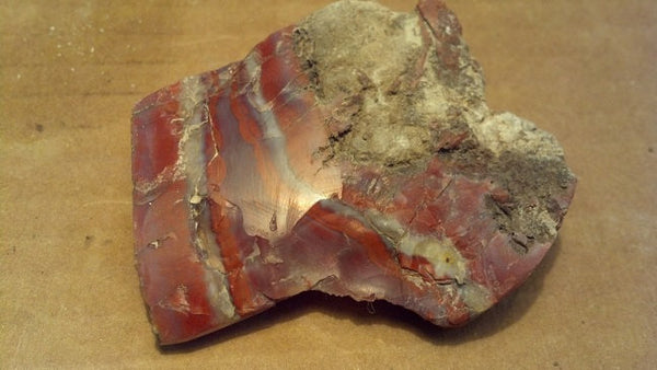 Red Agate specimen