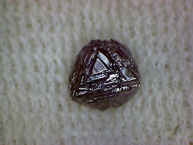 Purple Diamond quality rare mineral specimen