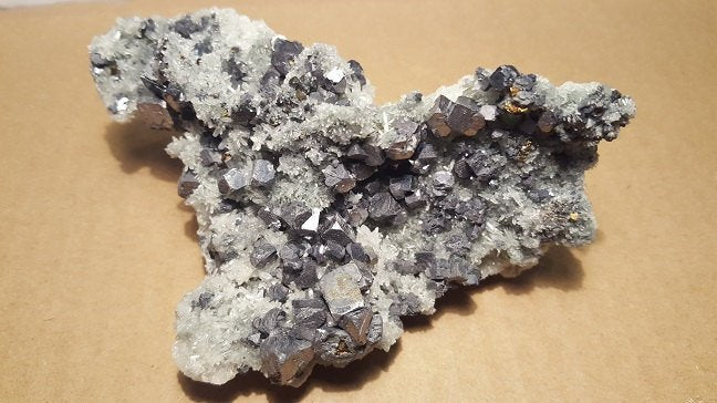 Galena with Quartz specimen