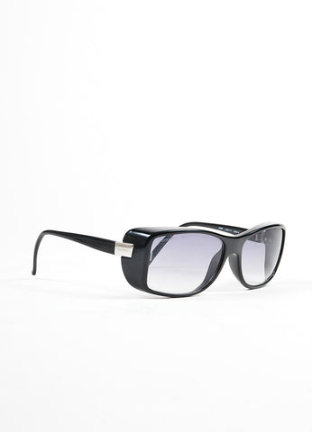 "Chanel Black Square Lenses ""5068"" Sunglasses Sideview"