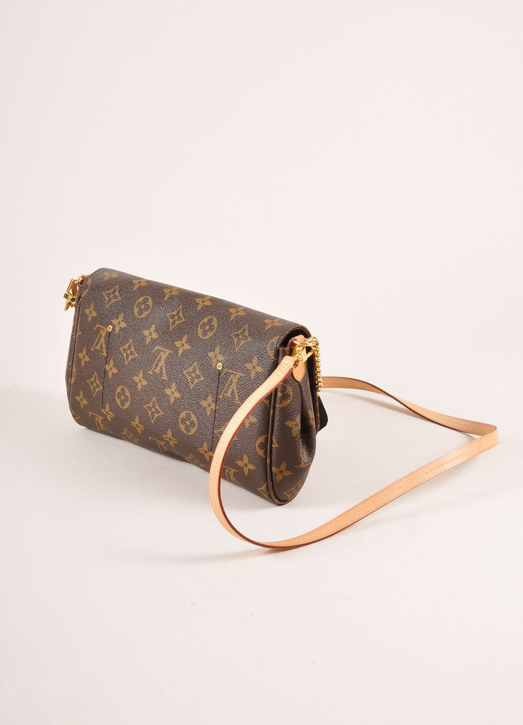 Louis Vuitton Monogram Canvas Favorite MM Shoulder Bag Sideview
