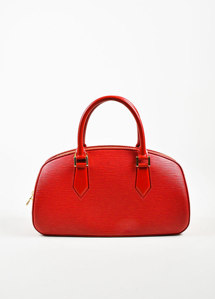 "Louis Vuitton Red Epi Leather ""Jasmin"" Handbag Frontview"