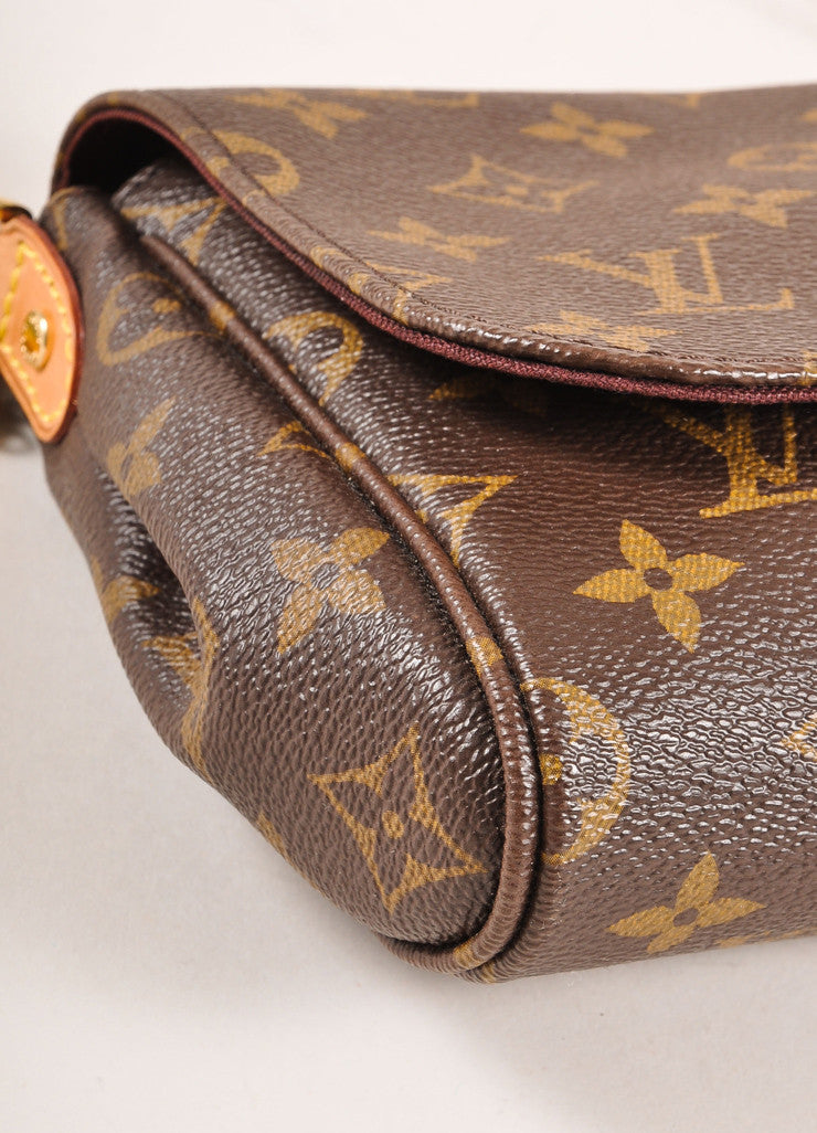 Louis Vuitton Monogram Canvas Favorite MM Shoulder Bag Detail