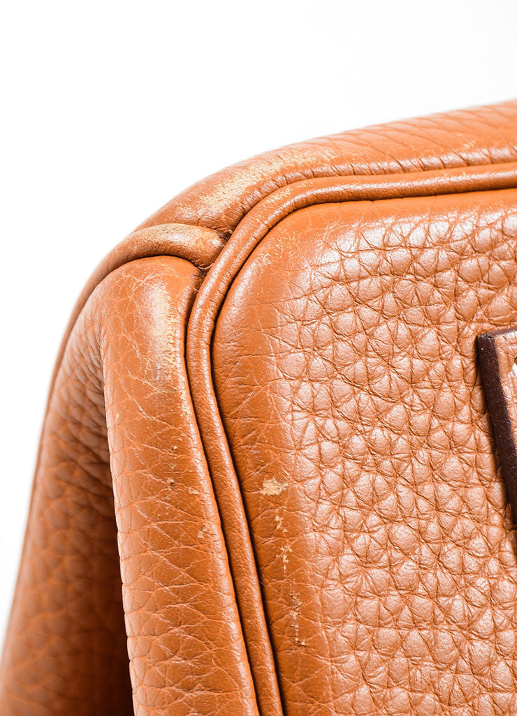 Caramel Tan Hermes JPG for Hermes Leather 42cm Birkin Corner
