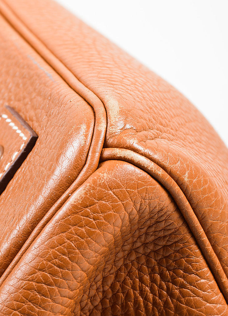 Caramel Tan Hermes JPG for Hermes Leather 42cm Birkin Detail 2