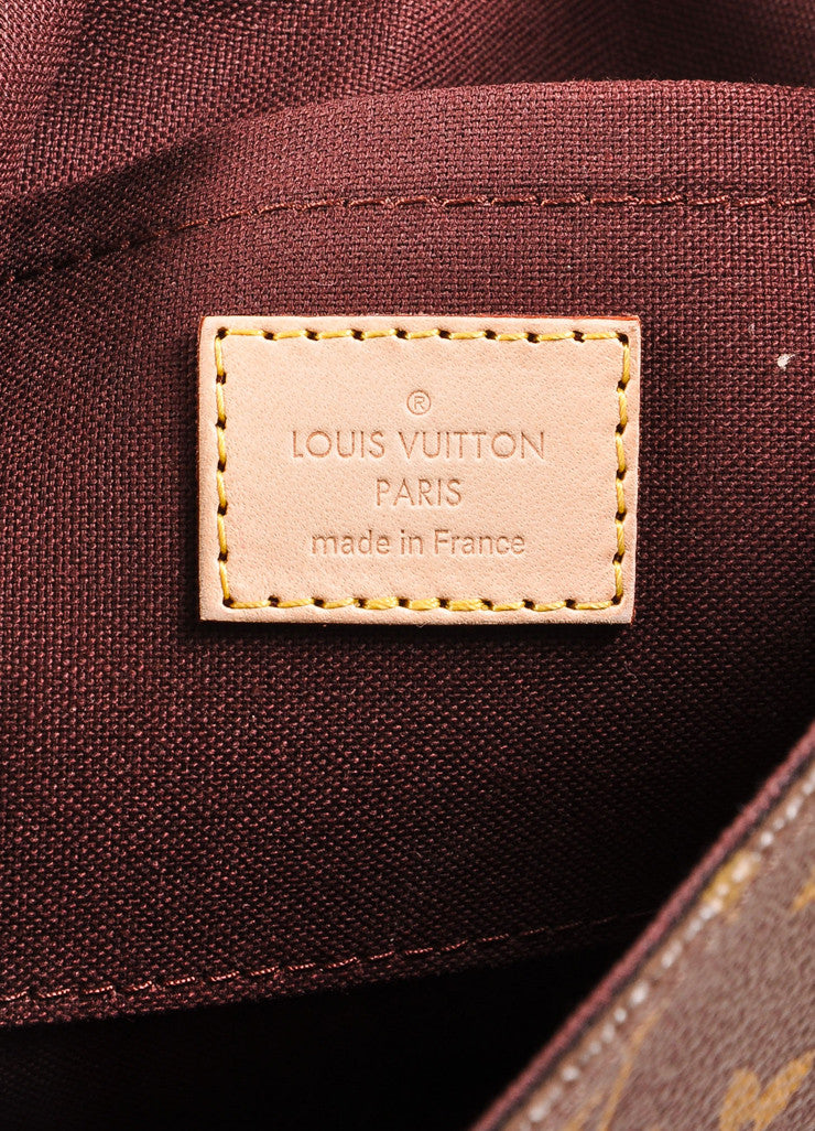 Louis Vuitton Monogram Canvas Favorite MM Shoulder Bag Brand