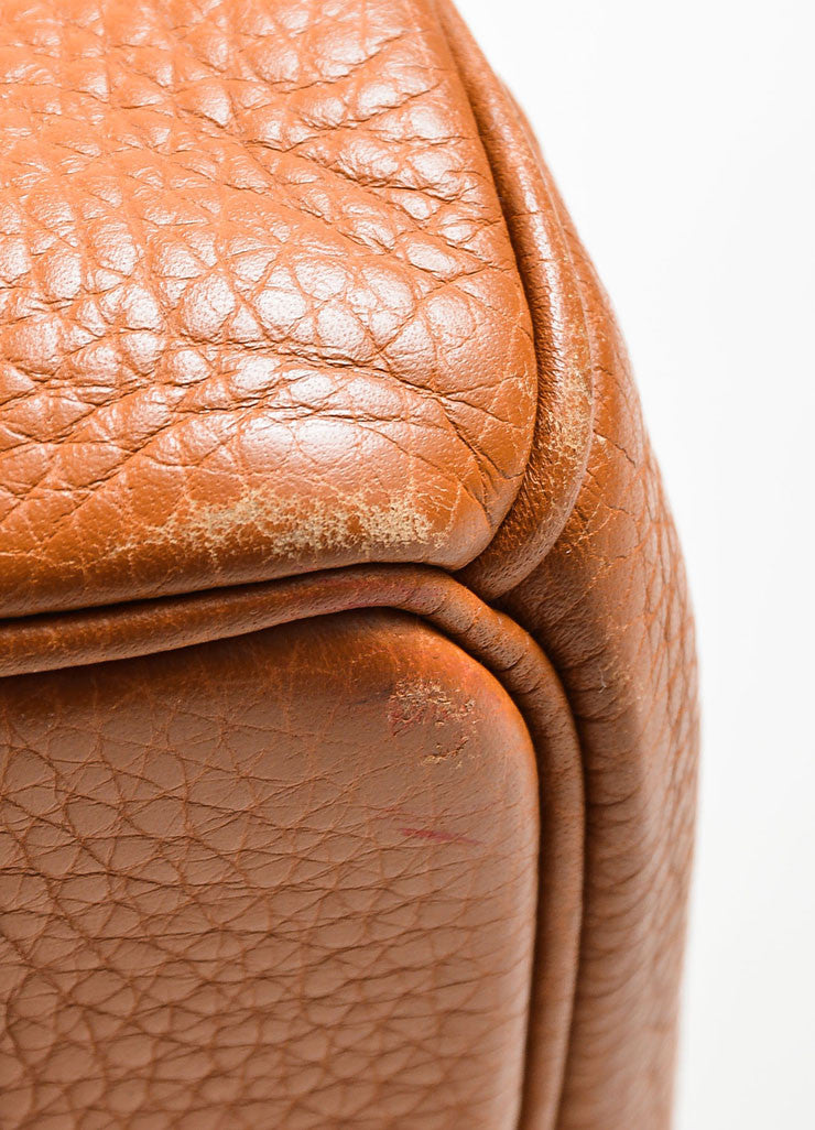 Caramel Tan Hermes JPG for Hermes Leather 42cm Birkin Detail 3