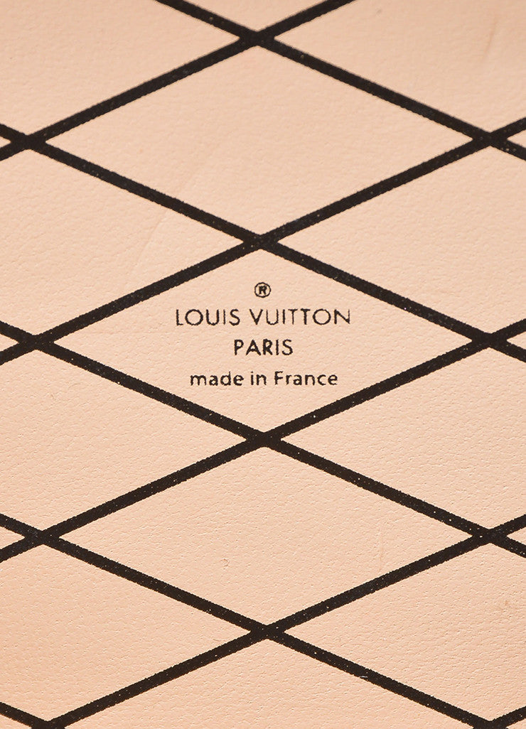 "Louis Vuitton Limited Edition Brown and Black Canvas ""Petite Malle"" Mini Trunk Bag Brand"