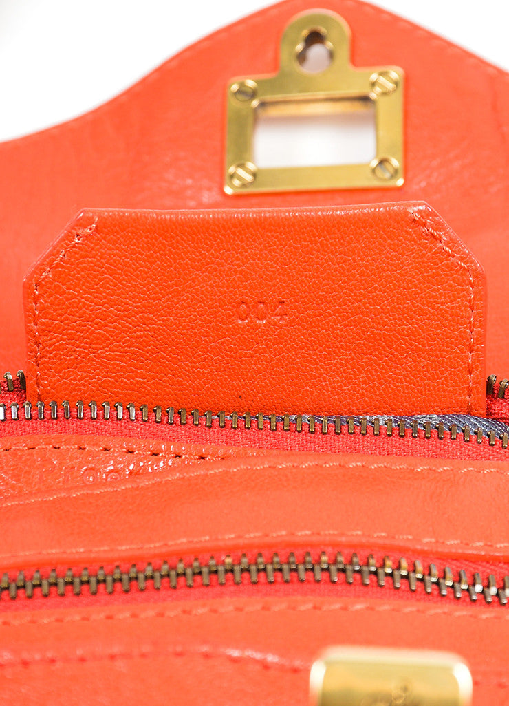 Red Proenza Schouler Leather Medium PS1 Satchel Bag Brand 2