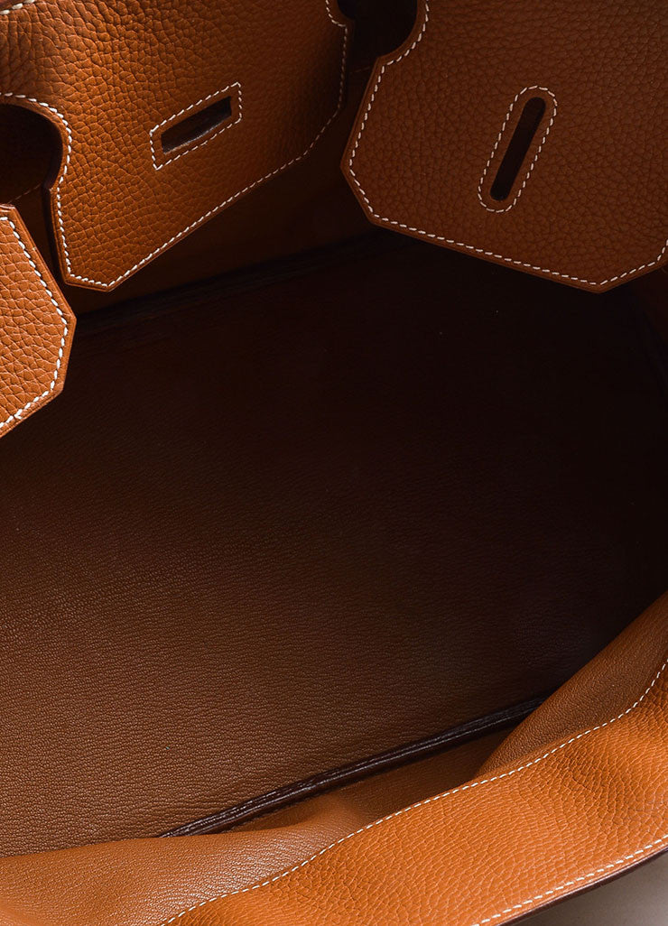 Caramel Tan Hermes JPG for Hermes Leather 42cm Birkin Detail 6