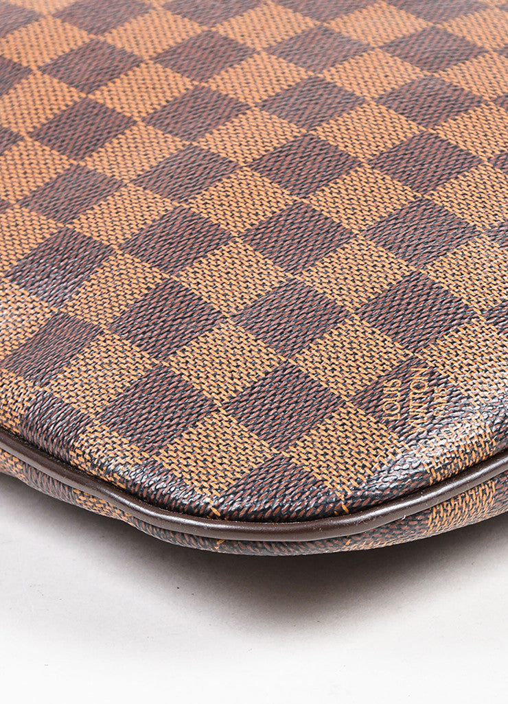 Louis Vuitton Brown Damier Printed Coated Canvas Pochette Bosphore Bag Detail 2