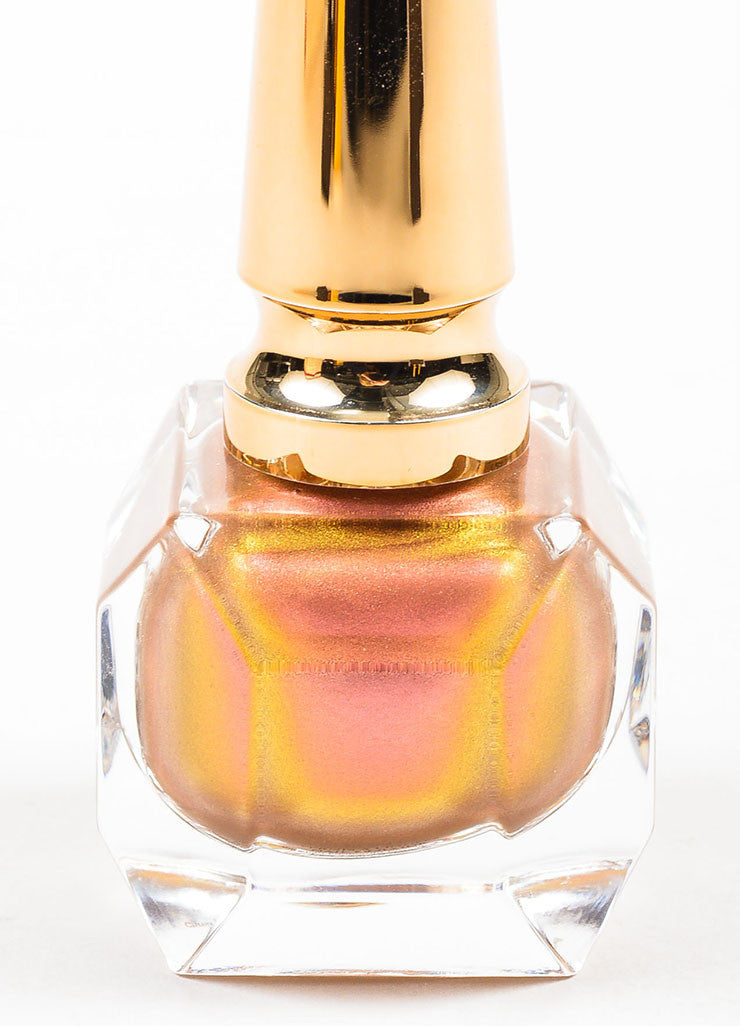 "Christian Louboutin Limited Edition ""Scarabee I"" Iridescent Nail Polish Detail"
