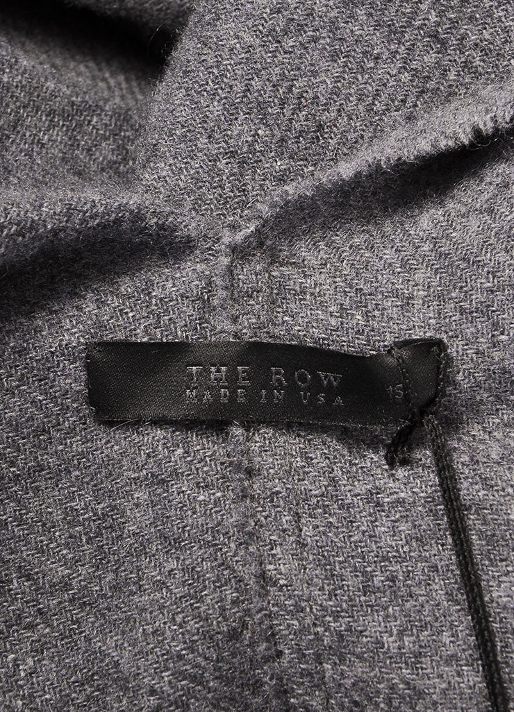 The Row New With Tags Grey Cashmere Shawl Wrap Brand
