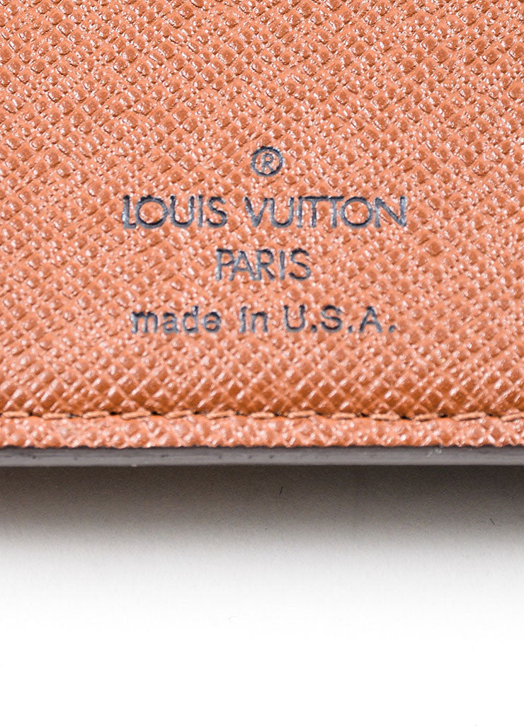 "Brown Louis Vuitton Monogram Canvas ""French Purse"" Wallet Brand"