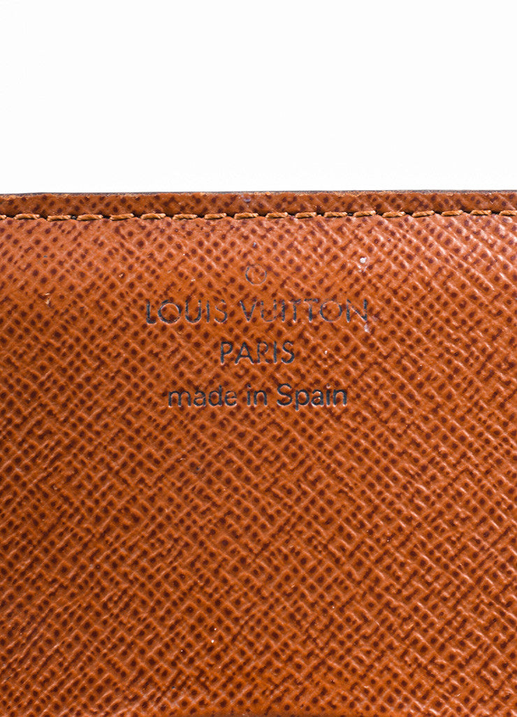 "Louis Vuitton Brown Monogram Canvas ""Business Card Holder"" Brand"