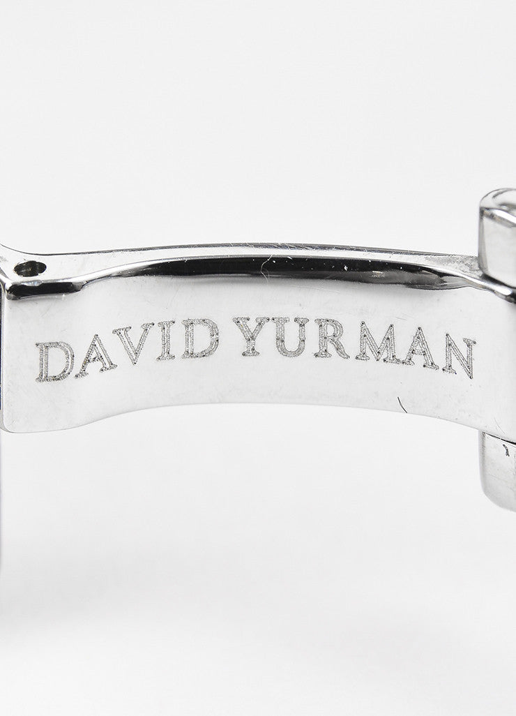 "David Yurman Stainless Steel Diamond Mother Of Pearl ""Thoroughbred"" Watch Brand 2"