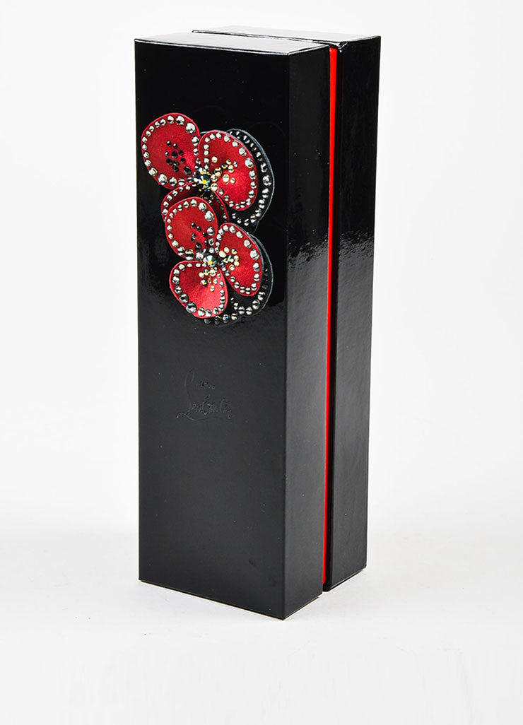"Christian Louboutin Limited Edition ""Starlight"" Rouge Strass Nail Color Case"