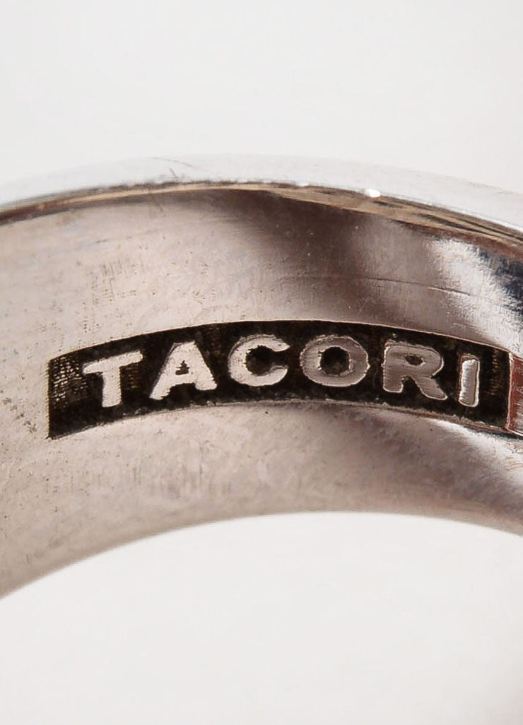 Tacori Sterling Silver, 18k Gold, Rutilated Quartz, and Black Onyx Ring Brand