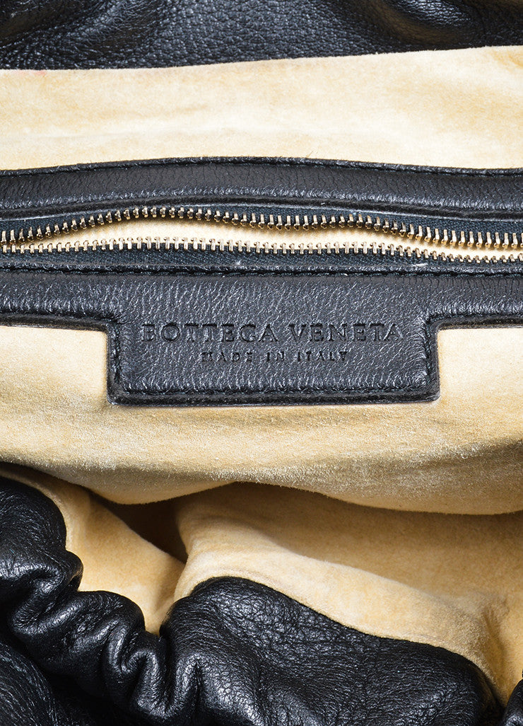 "Black Bottega Veneta ""Intrecciato"" Crossbody Bag Brand"