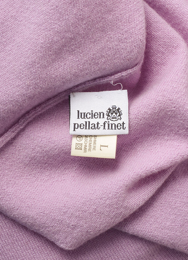 Lucien Pellat-Finet New With Tags Lavender Purple Cashmere Skull Sweater Brand