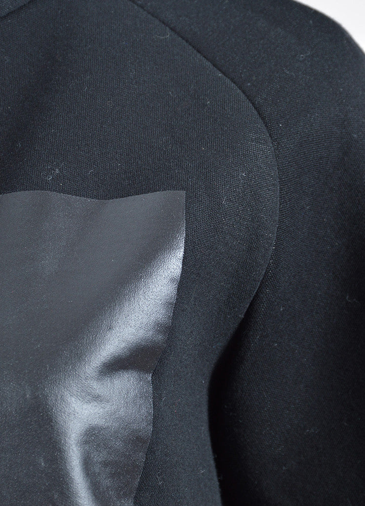 Black Alexander Wang Heat Tech Square Detail T-Shirt Detail