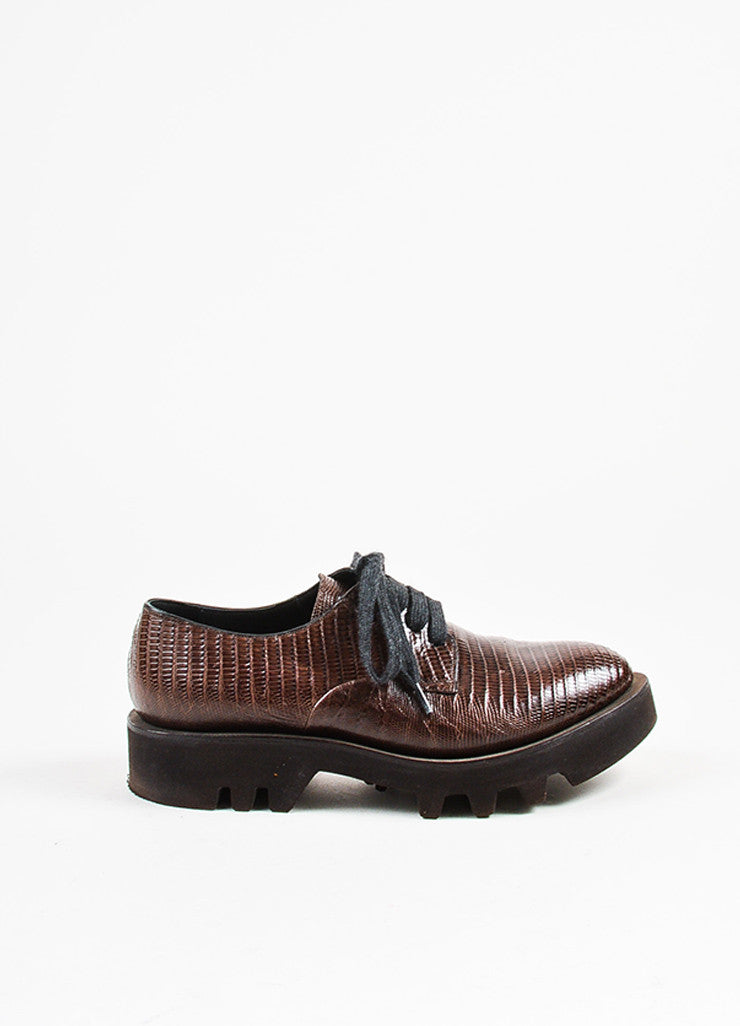 Brunello Cucinelli Leather Lace Ups OclhsV
