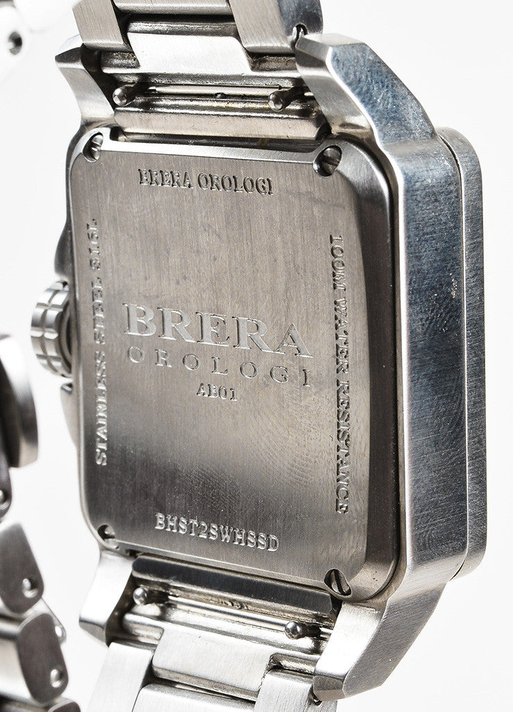 Brera Orologi Stella Collection Stainless Steel Diamond Bracelet Watch Brand