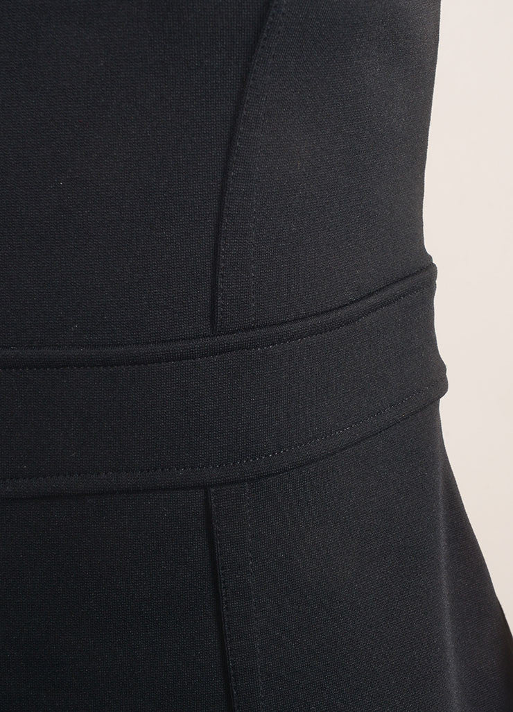 Givenchy Black Sleeveless Cocktail Dress Detail