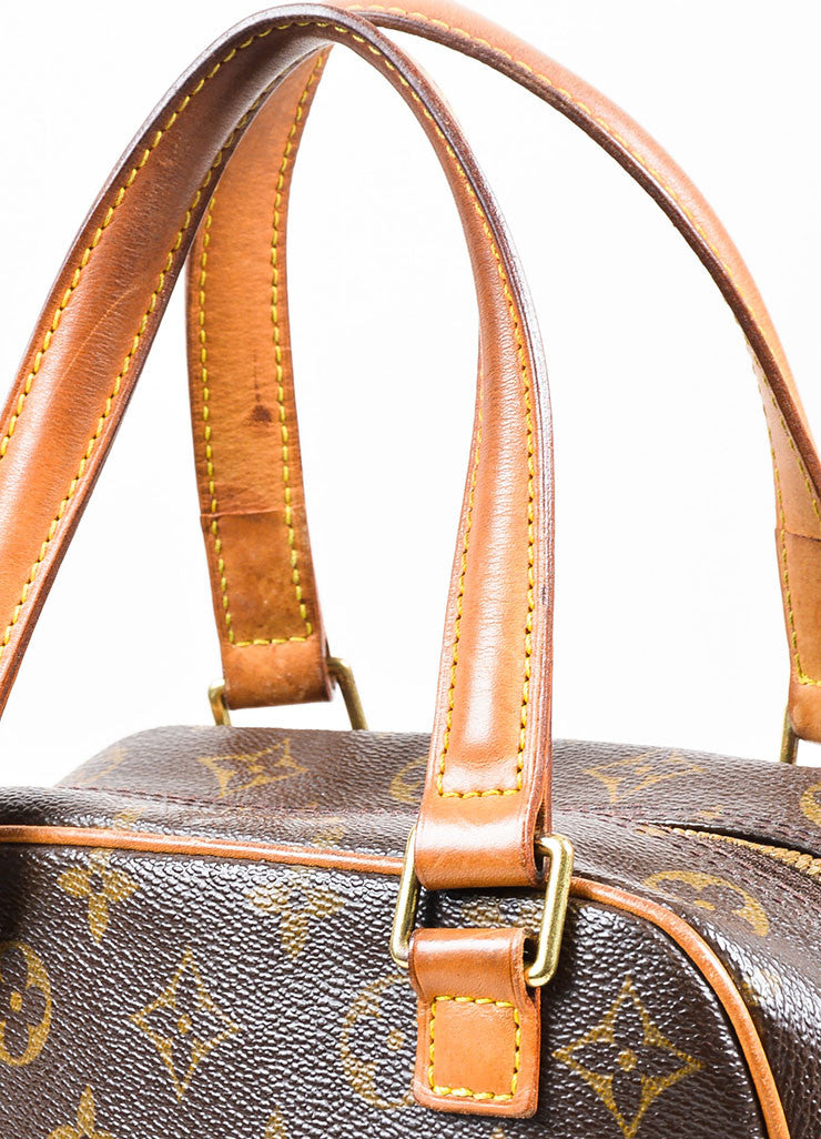 Louis Vuitton Brown Coated Canvas Mongram Multi Pocket 'Excentri-Cite' Tote Bag Detail 2