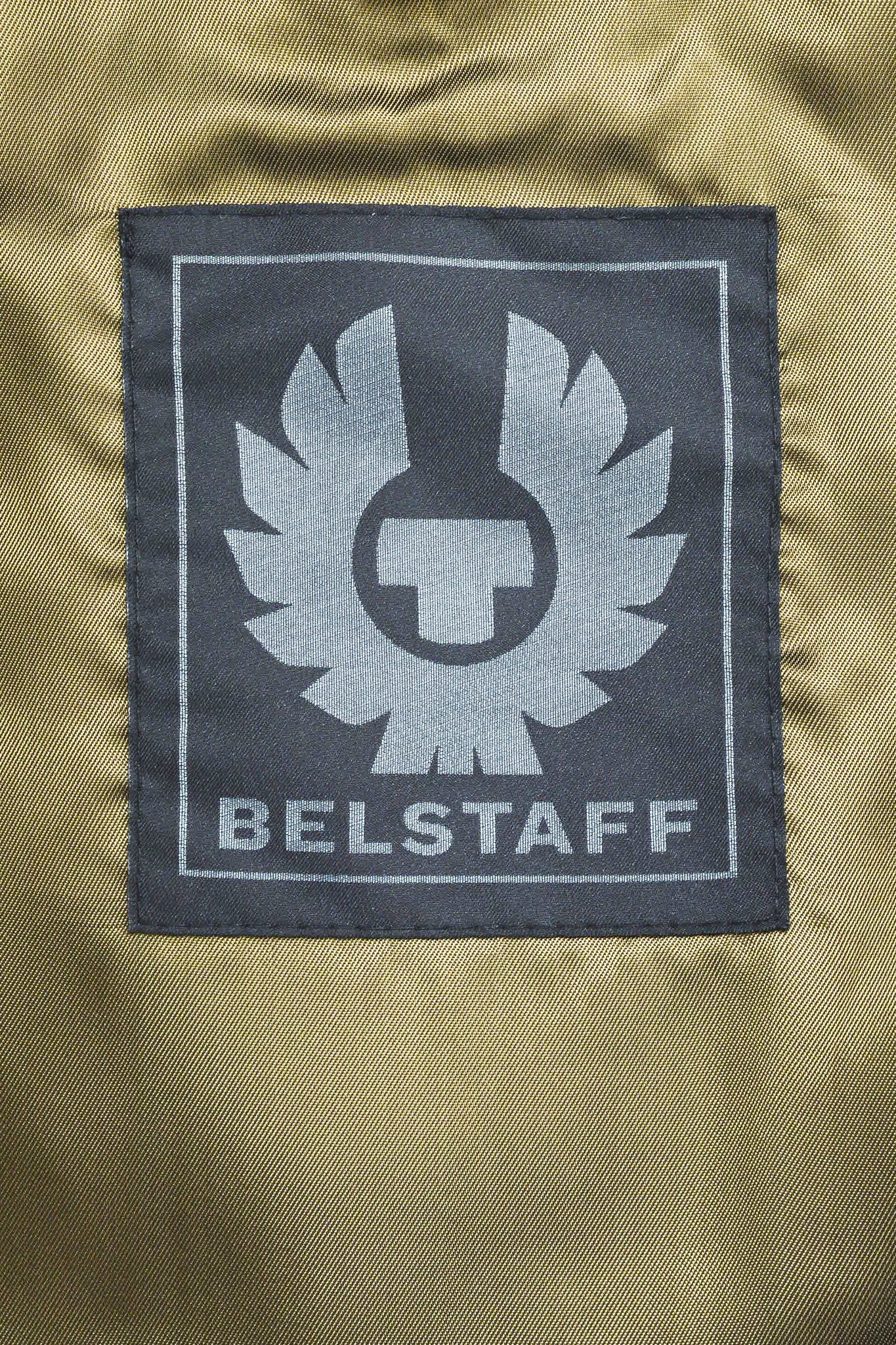 "Men's Belstaff Beige Leather Quilted ""Braxton"" Moto Jacket Brand"