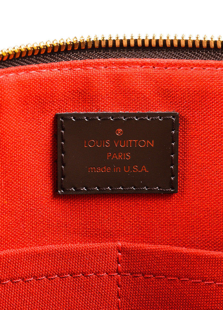"Louis Vuitton Damier Ebene Canvas ""Westminster GM"" Tote Bag Brand"